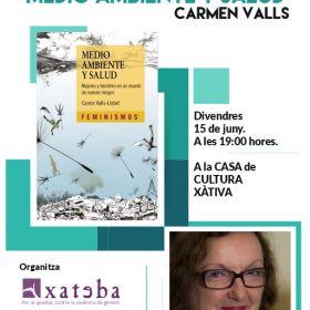 """15/06/2018  PRESENTACIÓN LIBRO CARMEN VALLS """"MEDIO AMBIENTE Y SALUD"""