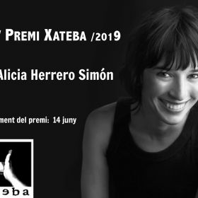 XV PREMIO XATEBA - 2019 PARA ALICIA HERRERO SIMÓN