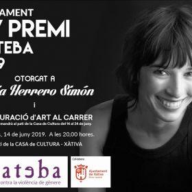 VIERNES, 14 DE JUNIO:  ENTREGA XV PREMNIO XATEBA-2019